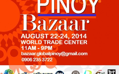 10th Global Pinoy Bazaar @ World Trade Center August 2014