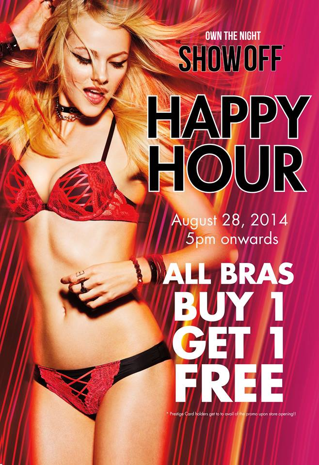 La Senza Happy Hour August 2014
