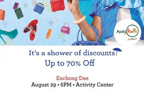 Marquee Mall 3-Day Sale August 2014