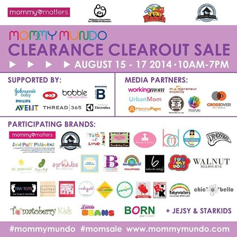 Mommy Mundo Clearance Clearout Sale @ Fun Ranch August 2014