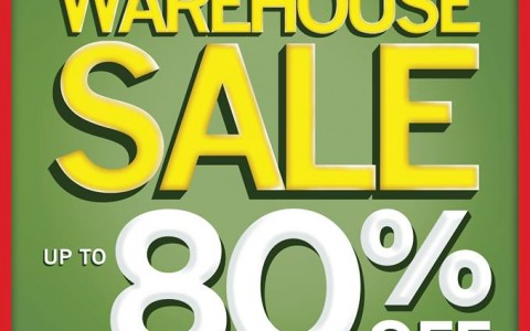 National Book Store Warehouse Sale @ Robinsons Galleria August 2014