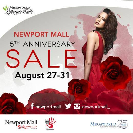 Newport Mall Anniversary Sale August 2014