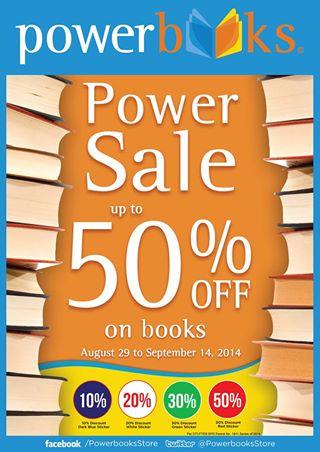 Powerbooks Power Sale August 2014