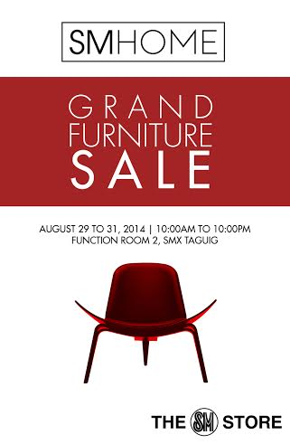 SM Home Grand Furniture Sale @ SMX Taguig August 2014