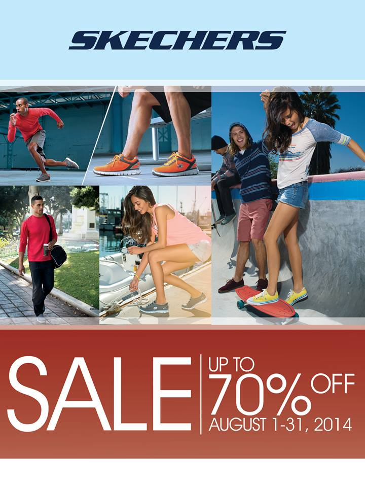 Skechers Sale August 2014