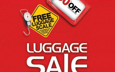 The SM Store Luggage Sale August 2014