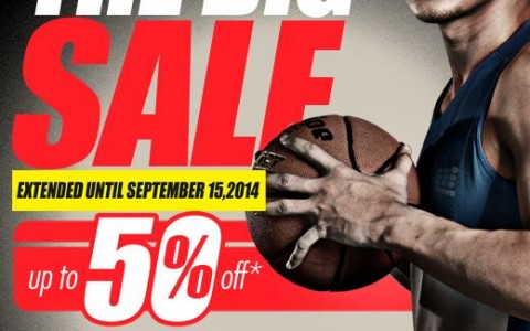Tobys Sports The Big Sale August - September 2014