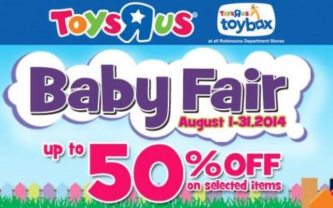 Toys R Us Baby Fair August 2014