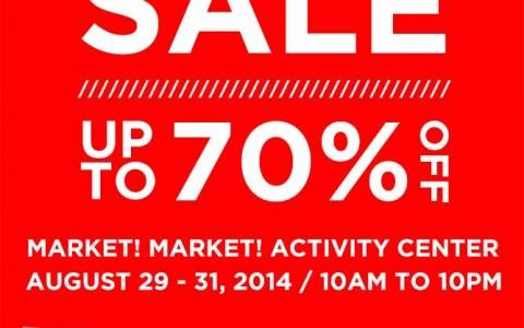 Vans Big Brand Sale @ Market Market Activity Center August 2014