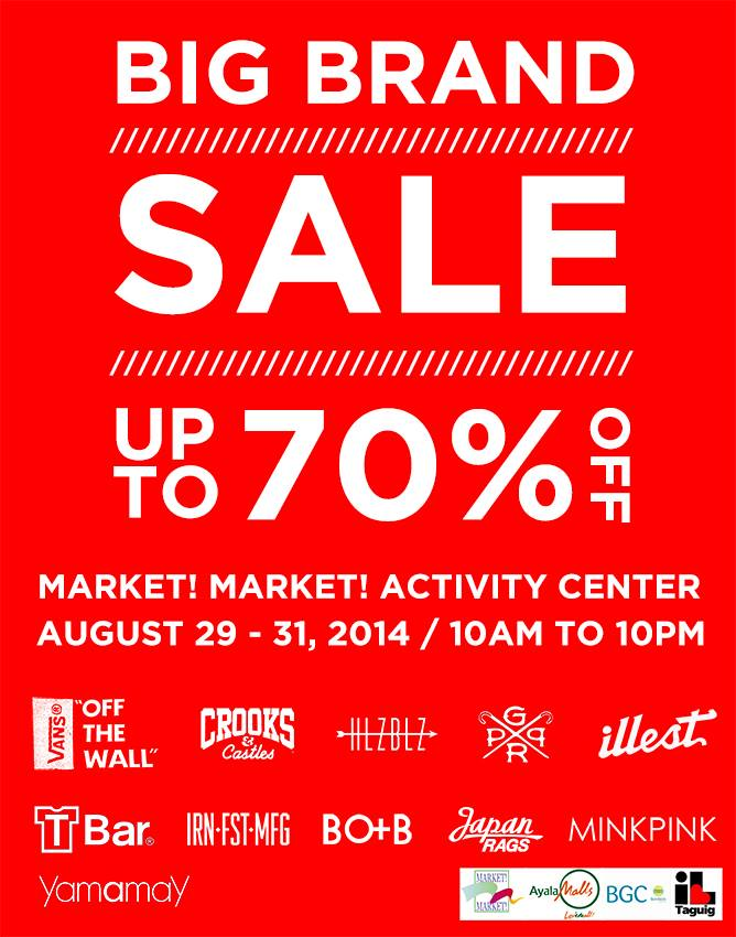 Vans Big Brand Sale @ Market Market Activity Center August 2014
