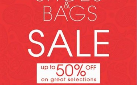 Warehouse Shoes and Bags Sale @ SM Megamall Event Center August 2014