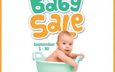 Metro Department Store Baby Sale September 2014