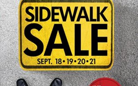 Metro Department Store and Super Metro Sidewalk Sale September 2014