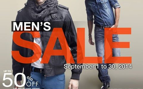 Robinsons Department Store Mens Sale September 2014