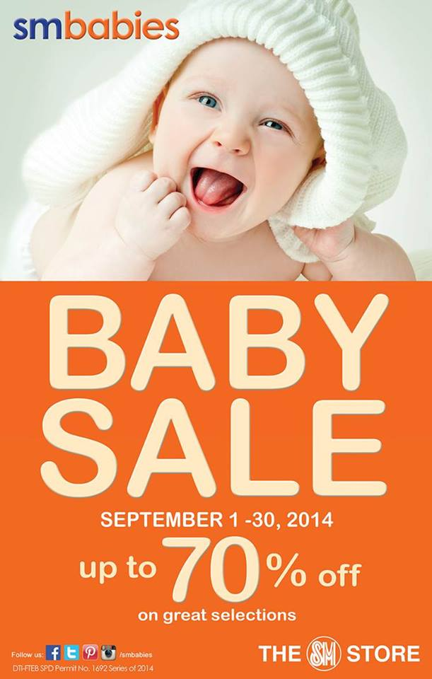 SM Babies Baby Sale September 2014