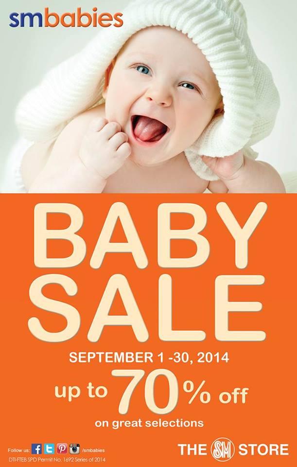 SM Babies Baby Sale September 2014