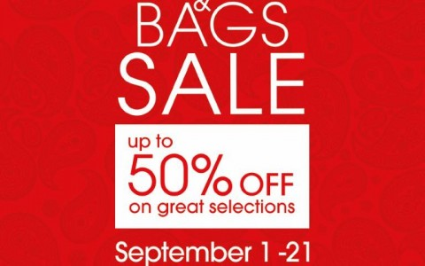 SM Shoes & Bags Sale September 2014