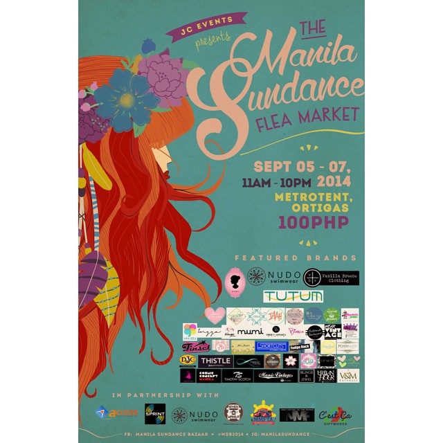 The Manila Sundance Flea Market @ Metrotent, Ortigas September 2014