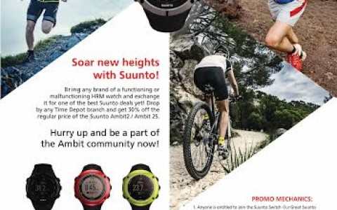 Time Depot Great Suunto Switch August - October 2014