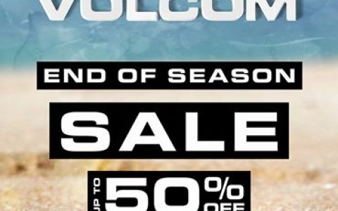 Volcom End of Season Sale September 2014