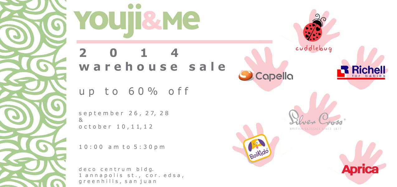 Youji & Me Warehouse Sale @ Deco Centrum September 2014