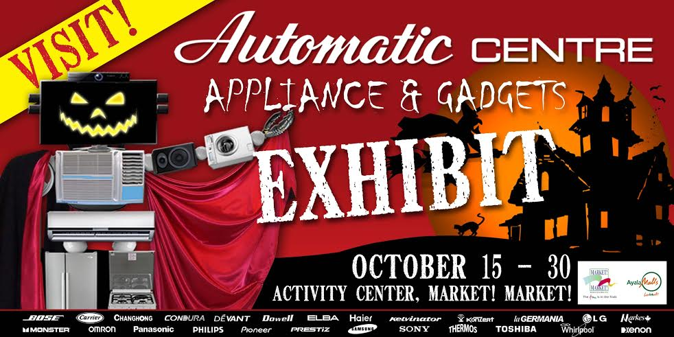 Automatic Center Appliance and Gadget Exhibit @ Market Market October 2014