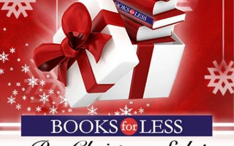 Books For Less Pre-Holiday Sale October - November 2014