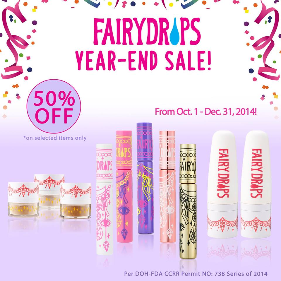 Fairydrops Year-End Sale October - December 2014