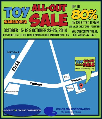 GST Toy Warehouse Location Map
