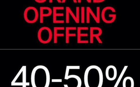 H&M Grand Opening Offer Sale @ SM Megamall October 2014