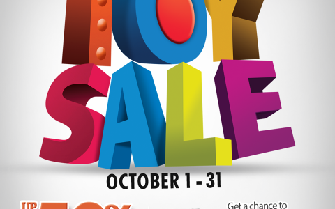 Metro Department Store Toy Sale October 2014