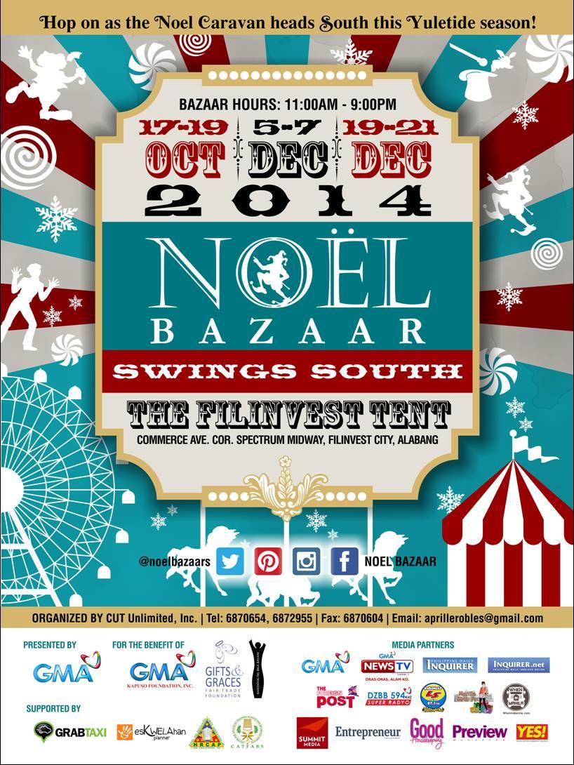 Noel Bazaar Swings South @ The Filinvest Tent October & December 2014