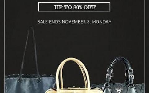 Reloved by AVA Prada Flash Sale October - November 2014