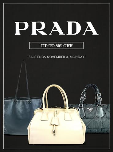 Reloved by AVA Prada Flash Sale October - November 2014