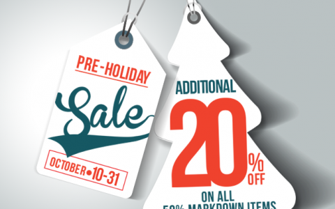 SM Accessories Pre-Holiday Sale October 2014