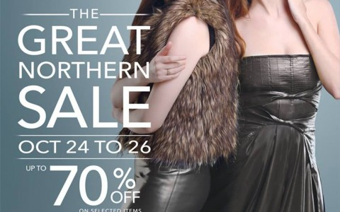 SM City North Edsa The Great Northern Sale October 2014