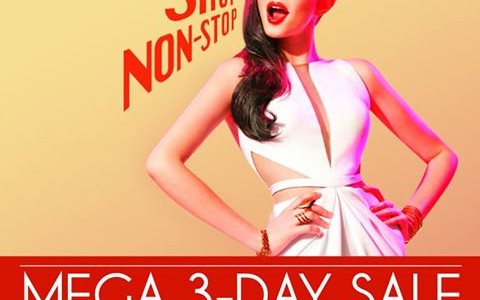 SM Megamall Mega 3-Day Sale October 2014