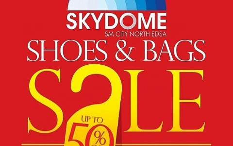 SM Shoes & Bags Sale @ Skydome, SM City North Edsa October 2014