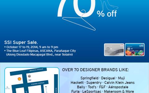 Citibank SSI Super Sale @ The Blue Leaf Filipinas, ASEANA October 2014