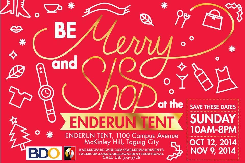 Shop @ Enderun Tent October & November 2014