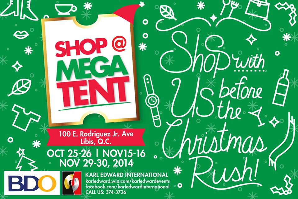 Shop @ Megatent October 2014