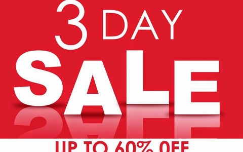 fisher mall 3-day sale oct 2014 poster