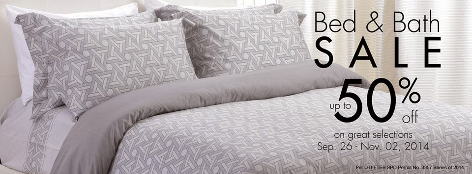 SM Home Bed & Bath Sale 2014 @ SM Department Store | Manila On Sale
