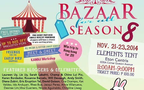 Bazaar For All Season @ Eton Centris November 2014
