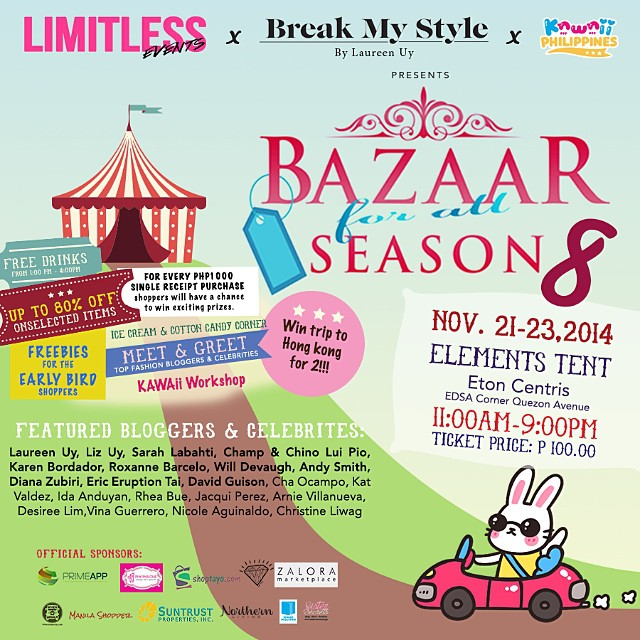 Bazaar For All Season @ Eton Centris November 2014