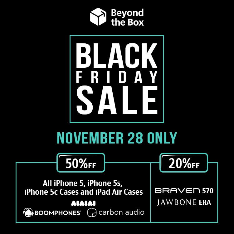 Beyond The Box Black Friday Sale November 2014