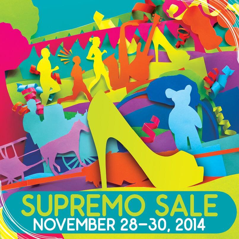 Bonifacio High Street Supremo Sale November 2014