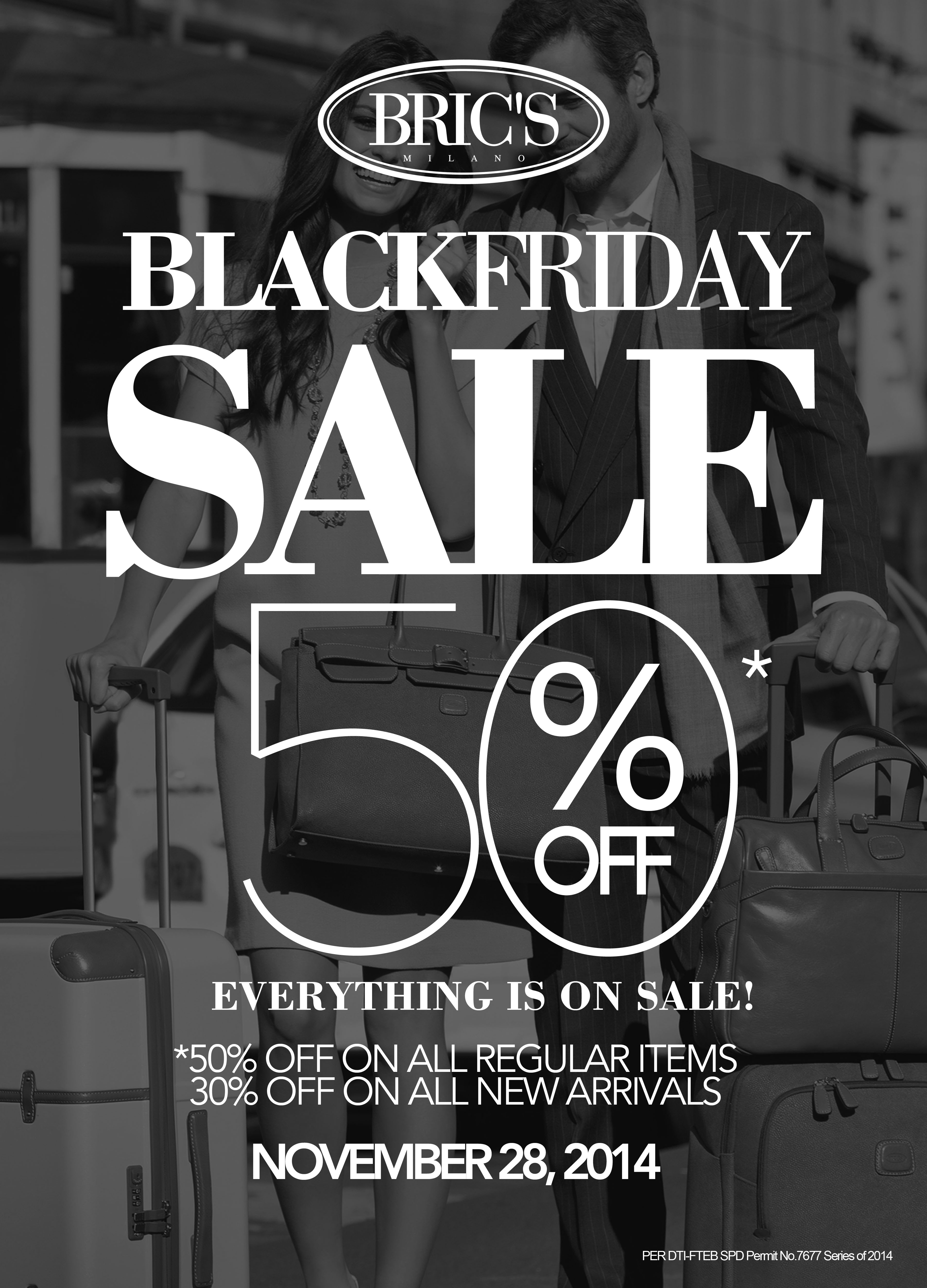 Brics Milano Black Friday Sale November 2014