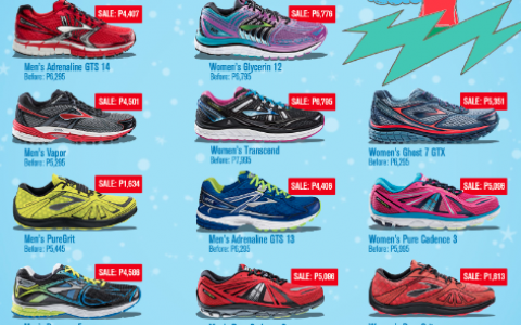 Brooks Christmas Shoe Sale November 2014