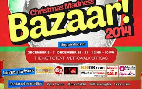 Christmas Madness Bazaar @ Metrotent, Metrowalk December 2014
